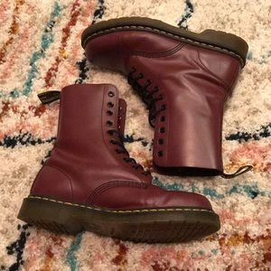 Doc Martens Matte Red Size 10